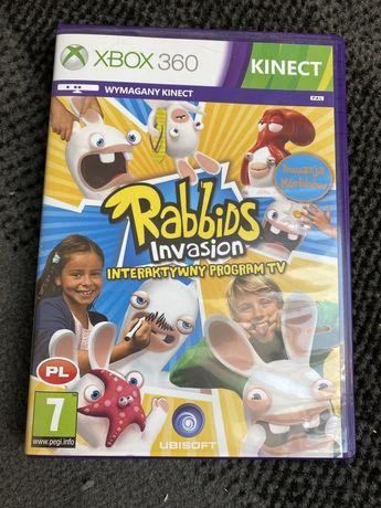 Gra na xbox 360 Kinect Rabbids Invasion