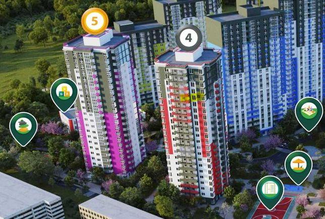 Продажа 3-к видовой квартиры в ЖК Сырецкие Сады