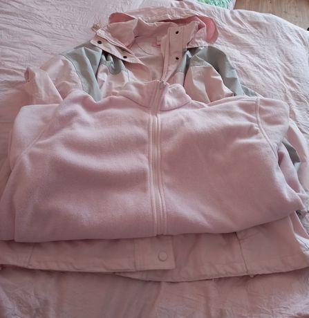 Р50 непродуваемая куртка  с флисовой подстежкой