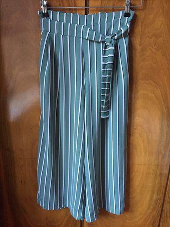 Zara spodnie culotte