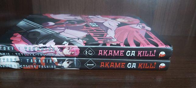 Manga Akame ga Kill tom 1-2