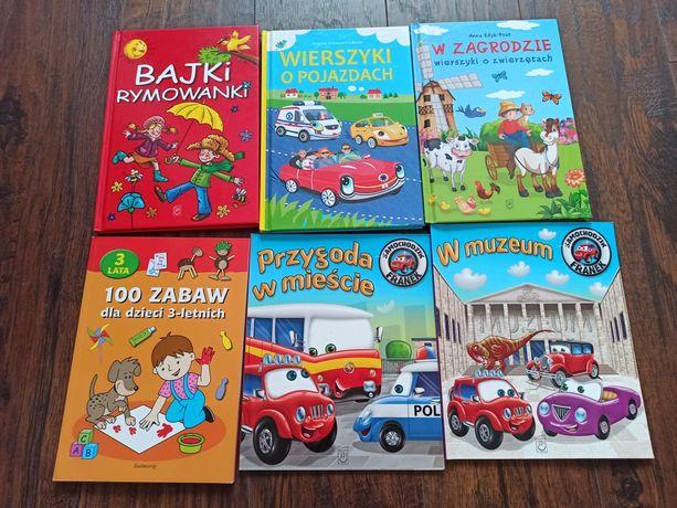 Książki dla dzieci Bajki, wierszyki