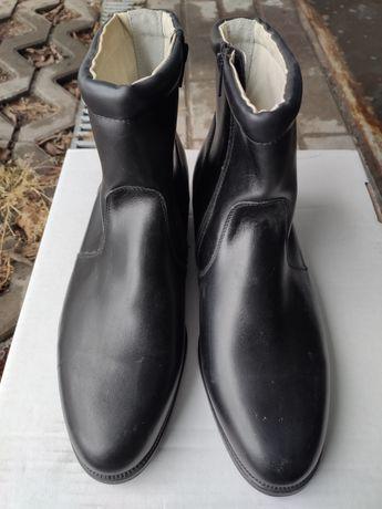 Nowe Skórzane buty wojskowe wyjściowe zimowe wzór 923, r.44