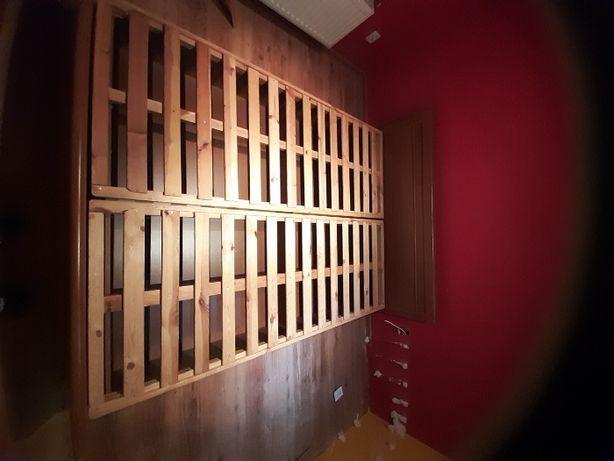 ***PILNE*** Łóżko 170x210 drewniane + szafki nocne