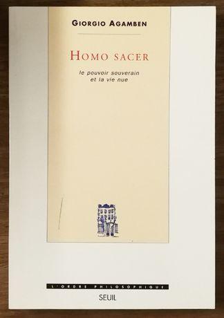 homo sacer, giorgio agamben, seuil