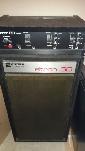 Wzmacniacz z kolumną ELTRON 30