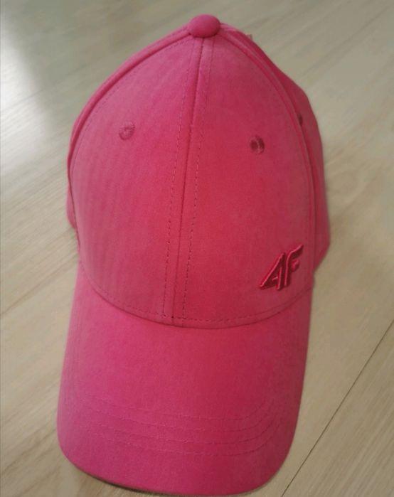 Różowa czapka firmy 4f, rozm. S/M Jugów - image 1
