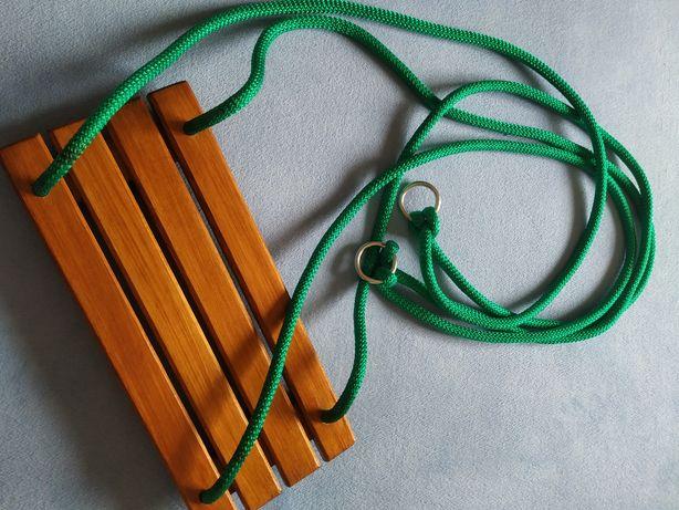 NOWA drewniana huśtawka do 20 kg