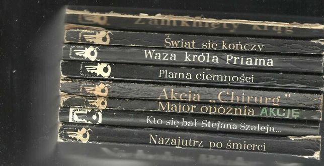 kryminaly z serii srebnykluczyk   i Jamnik