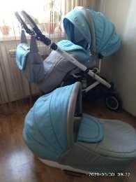 Продам коляску 2в1, Adamex ,Польша в отличном состоянии.