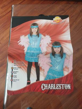 strój karnawałowy dla dziewczynki, charleston, LUBOŃ
