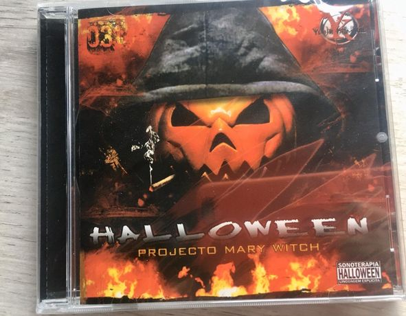Cd Allen halloween - projeto Mary witch selado hiphop tuga