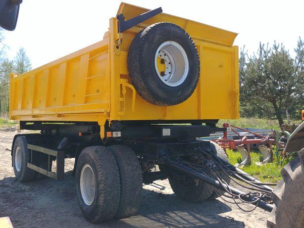 Przyczepa cieżarowa MAZ 22t. Wywrot hydrauliczny na 1 siłownik, abs