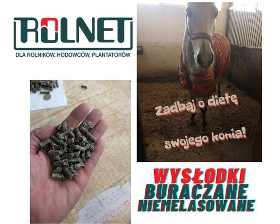 Wysłodki buraczane 25kg worek pasza uzupełniająca dla koni