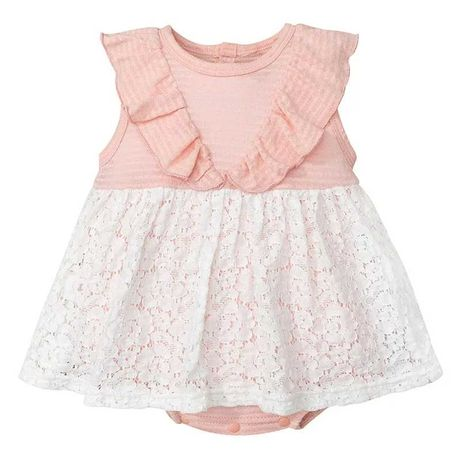 Новый красивый боди-платье с кружевной юбкой, 100% котон, 12-18 мес.