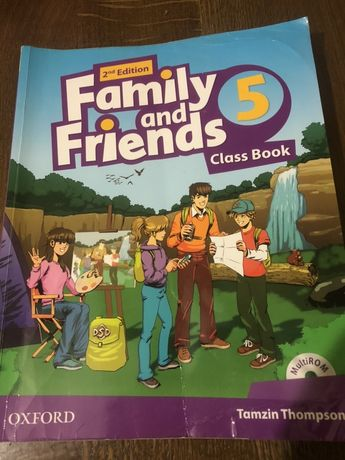 Продам Family and Friends 5 Class Book