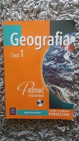 """Podręcznik """"Geografia część 1 Poznać zrozumieć"""" Zakres podstawowy WSIP"""