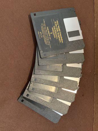 """Software Vintage da Bíblia em disquetes 2,5"""""""