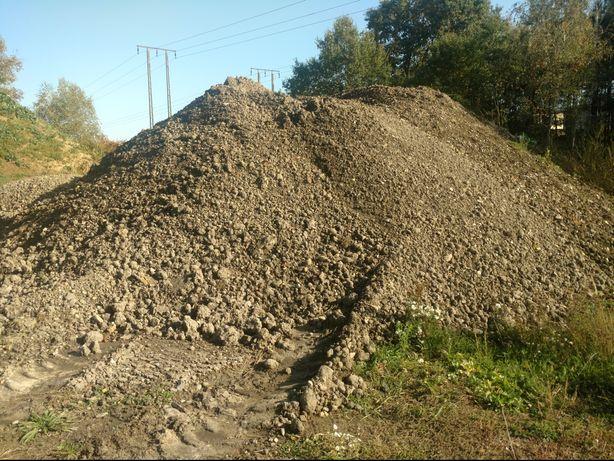 Ziemia podkładowa kostka granitowa brukowa kruszywo kamień piasek żwir