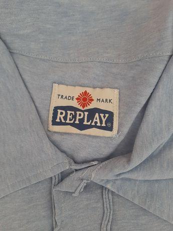 t-shirt replay tamanho M