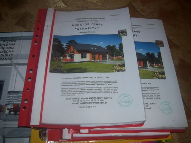 Projekt domu Murator C280a Wykwintny okazja