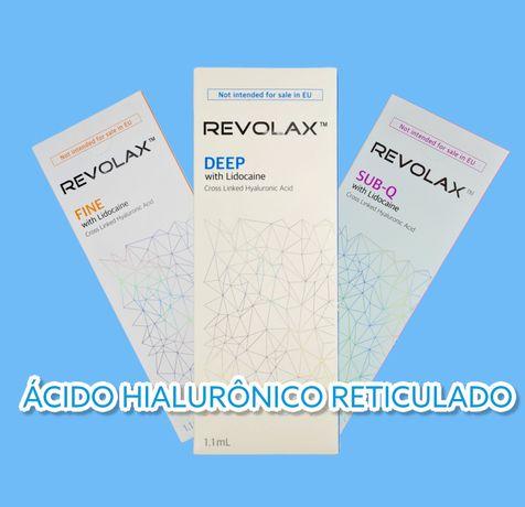 Ácido Hialurônico Revolax Original/ Pode usar com Hyaluron Pen