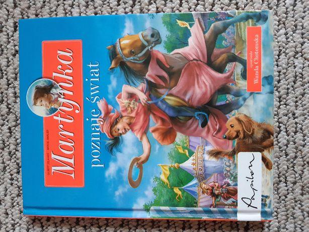książka Martynka poznaje świat - Wanda Chotomska
