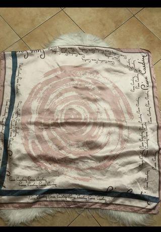 Платок Pierre Cardin шелк шелковый шовк шовковий брендовый