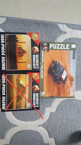 Puzzle 1000 i 500