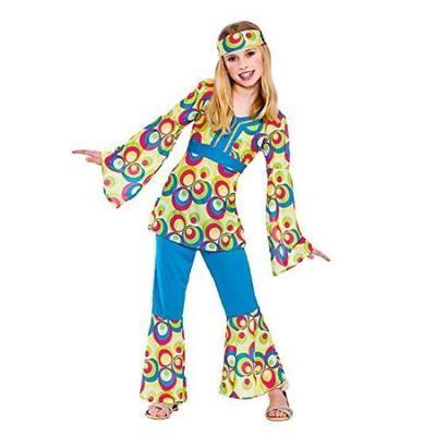 Карнавальный костюм - Рэтро Диско Хиппи 60х 70х , радуги.