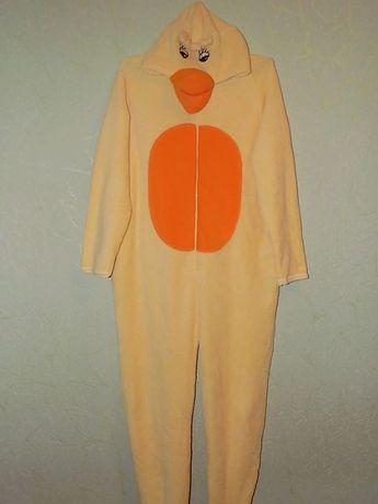 Плюшевый, суперовый слип, пижама, домашний костюм, размер 14/16, 42/44