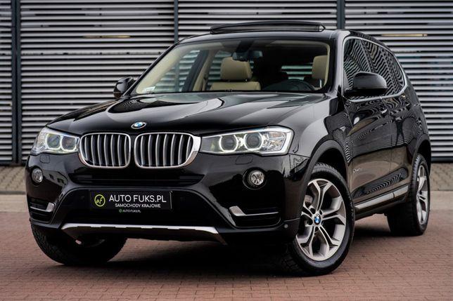 Auto do ślubu BMW X3 panorama