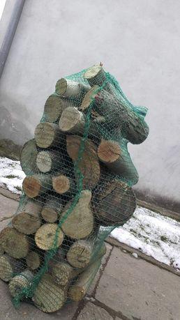 Drewno opałowe workowane