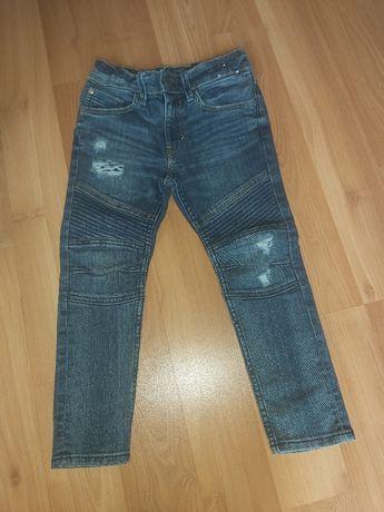 Spodnie dzinsy h&m