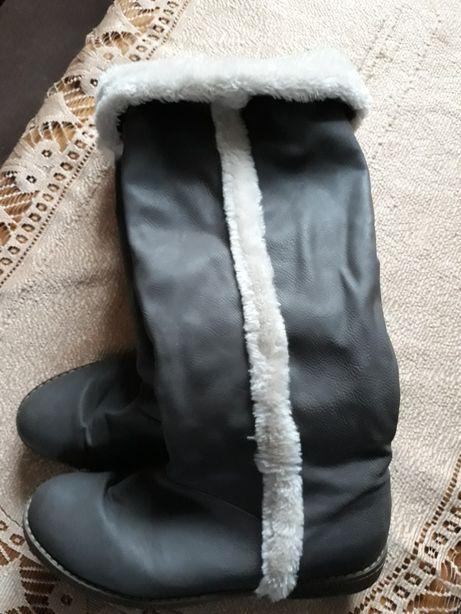Kozaki zimowe damskie nowe