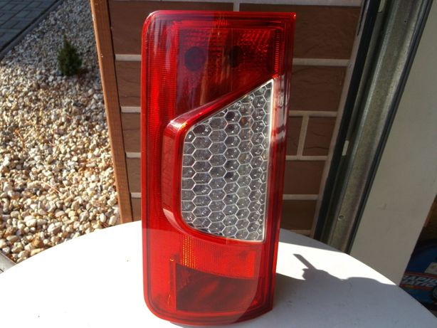 Lampa lewy tył Ford Connect 02-13 Depo+listwa Ford