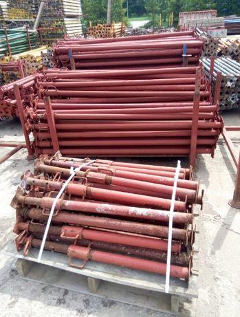 Stemple budowlane metalowe używane różne.