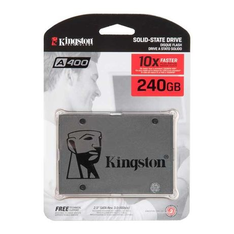 SSD накопитель Kingston A400 SA400S37/240G 240ГБ
