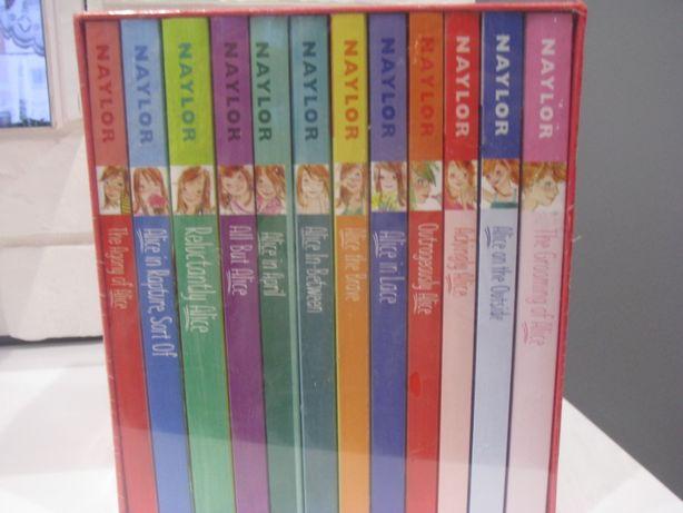 Nowy zestaw książek w języku angielskim Alice-collection