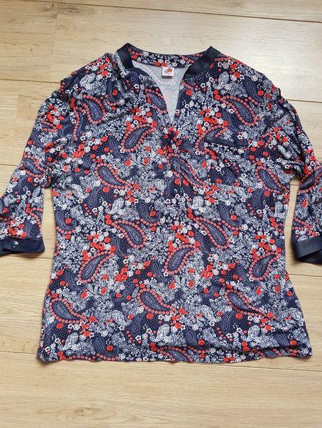 Bluzka rozmiar 50 3xl kwiaty