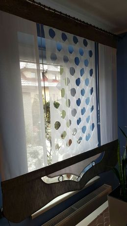 NOWY panel zasłonowy do okna rozm. 1.5 × 1.4 cm.