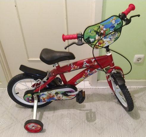 Bicicleta do Mickey para Criança