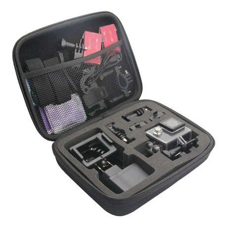 Estojo Case p/ câmara e acessórios. (Action Cam / GoPro / câmara Ação)