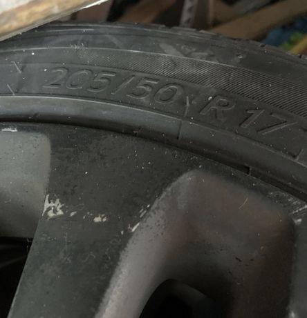 Jantes 17 com pneus