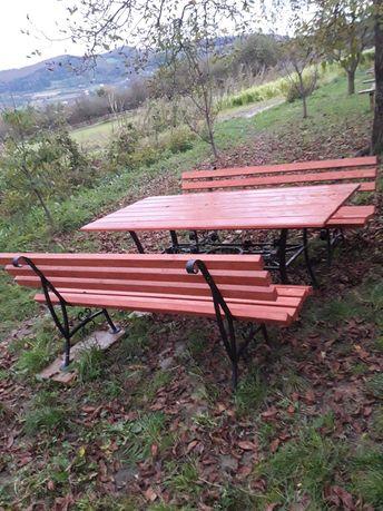 Stół ogrodowy kuty