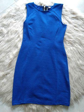 Sukienka chabrowa H&M. Rozmiar M.