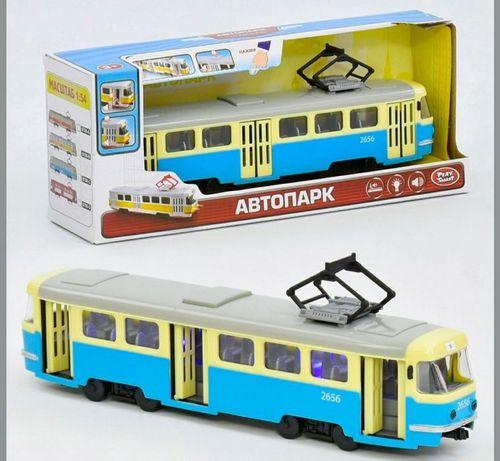 Трамвай метало-пластик