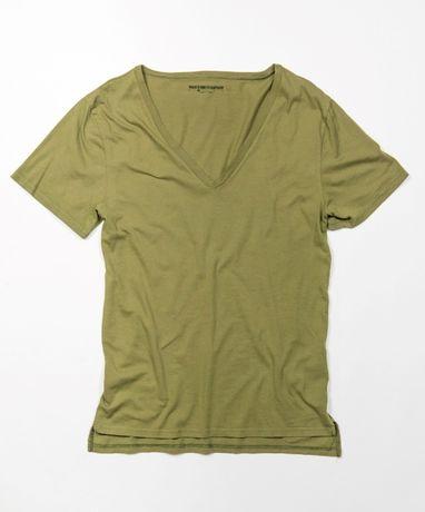 Новая оригинальная футболка Размер L Oneteaspoon DEEP V COTTON TEE