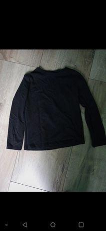Bluzka czarna z długim rękawem