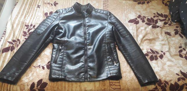 Мужская куртка эко-кожа